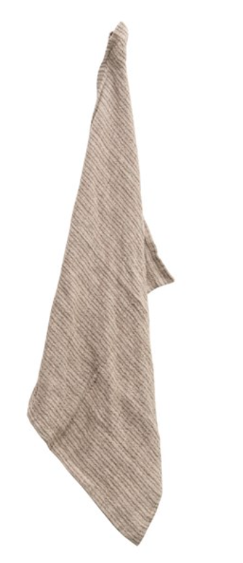 Woven Linen Striped Tea Towel