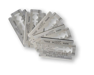 Pack of 5 Double Edge Razor Blades