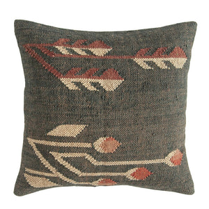 Square Hand-Woven Kilim Pillow