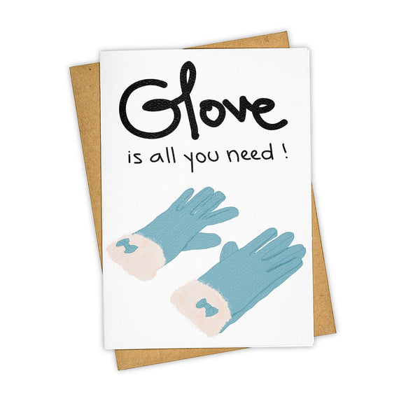 Glove Is All You Need Card