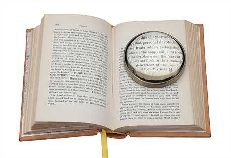 Magnifying Glass Paperweight