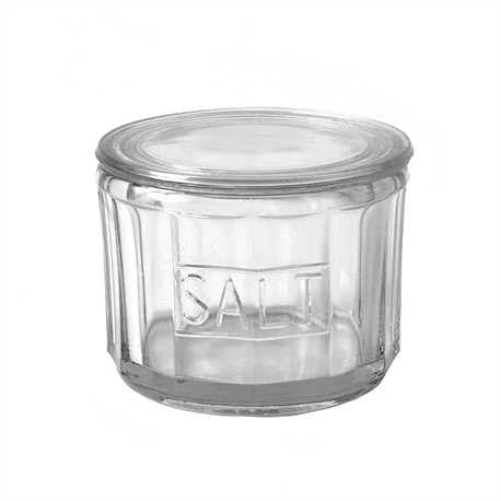Glass Salt Jar
