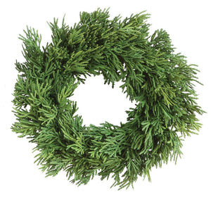 Green Cedar Wreath