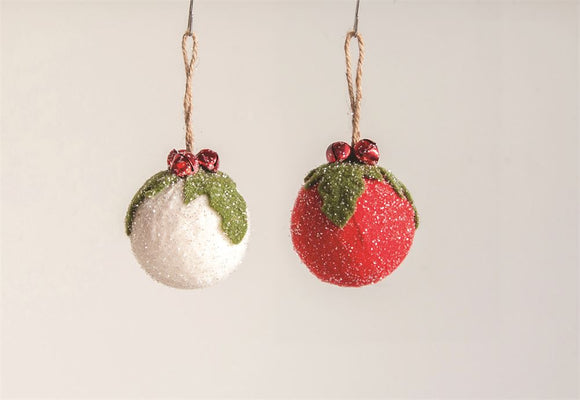 Felt Jingle Bell Ornament