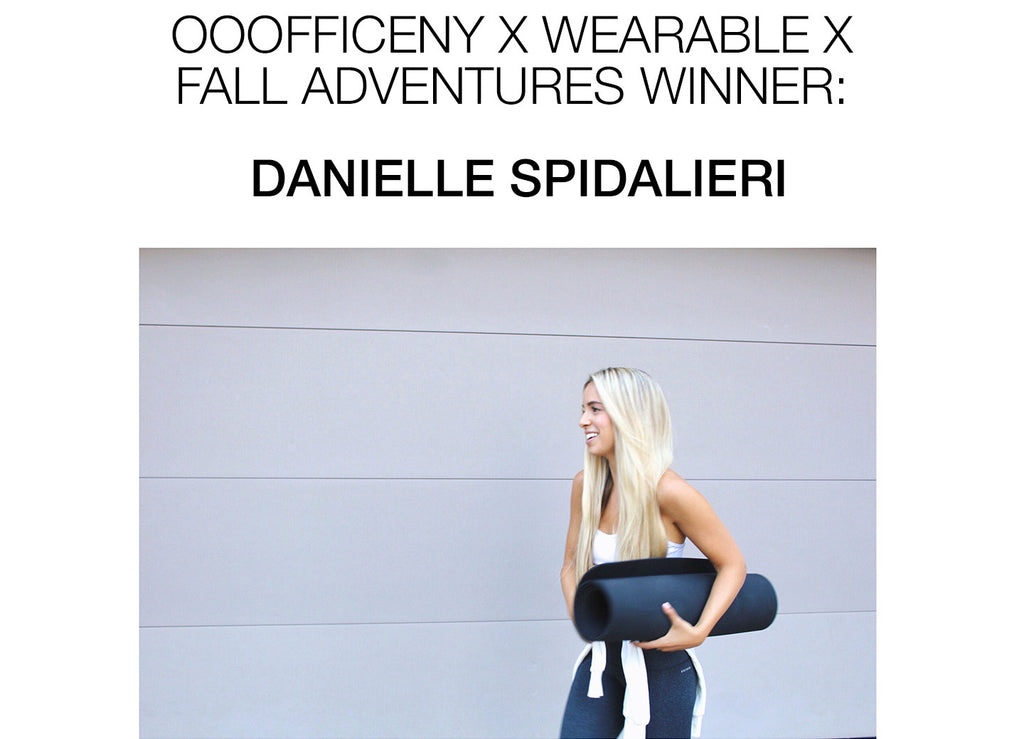 <center>OOOFFICENY x WEARABLE X FALL ADVENTURES WINNER ANNOUNCEMENT</center>