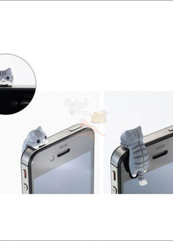 1 Cute Smartphone Anti Dust Cat Plug (Free Shipping)