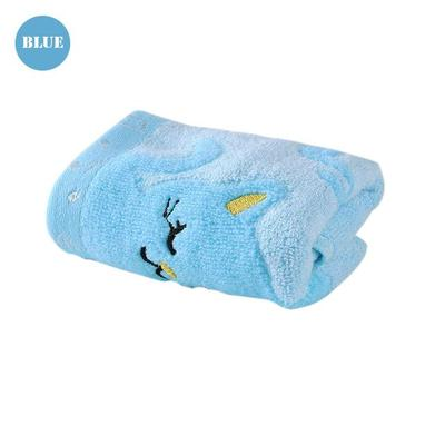 Cute Cat Baby Towels blue by Blissfactory Pet Supplies