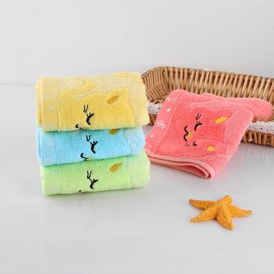 Cute Cat Baby Towels 4 colors by Blissfactory Pet Supplies