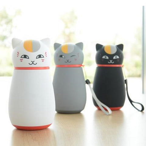 Image of Cute Japanese Cat Thermos Flask, Coffee Thermos by Blissfactory Pet Supplies