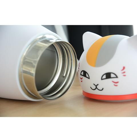 Cute Japanese Cat Thermos Flask, Coffee Thermos material by Blissfactory Pet Supplies
