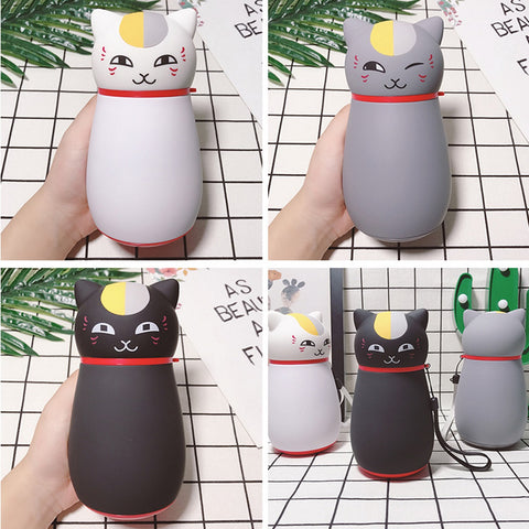 Cute Japanese Cat Thermos Flask, Coffee Thermos design by Blissfactory Pet Supplies