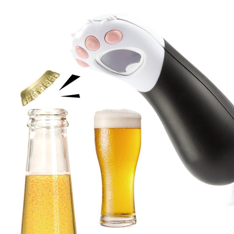 Image of Cute Cat Paw Bottle Opener, Wine Opener
