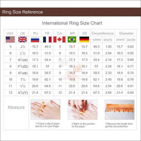 Adorable Sterling Silver cat Ring Size chart by Blissfactory Pet Supplies