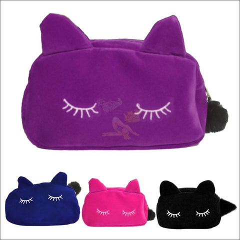 Image of Adorable Multipurpose velvet  cat Bag 4 colors by Blissfactory Pet Supplies