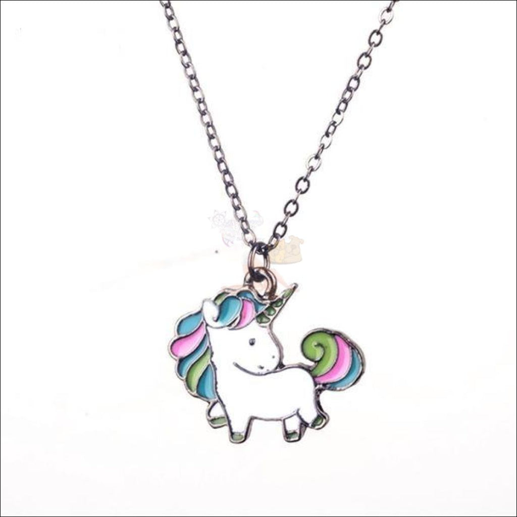ethsy moon unicorn necklace com product crescent