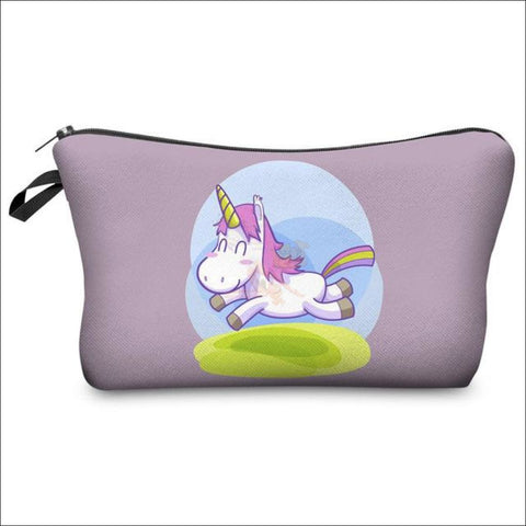 Image of Adorable Unicorn Makeup Bags unicorn  variant 5 by Blissfactory Pet Supplies