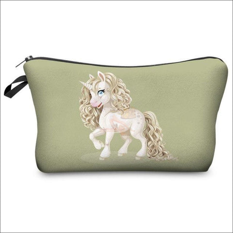 Adorable Unicorn Makeup Bags unicorn  variant 1 by Blissfactory Pet Supplies