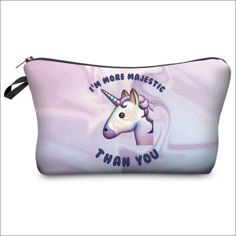 Image of Adorable Unicorn Makeup Bags unicorn  variant 3 by Blissfactory Pet Supplies
