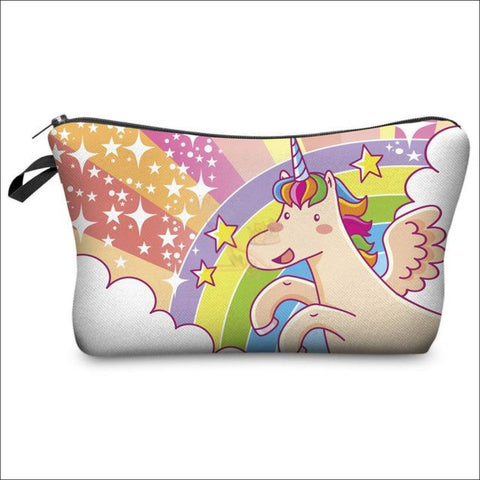 Adorable Unicorn Makeup Bags unicorn  variant 2 by Blissfactory Pet Supplies