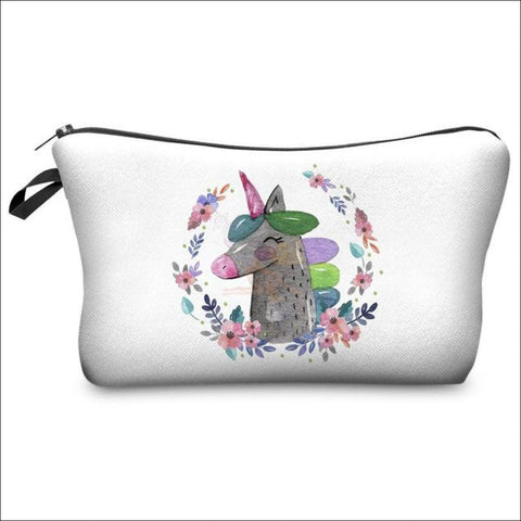 Adorable Unicorn Makeup Bags unicorn  variant 9 by Blissfactory Pet Supplies