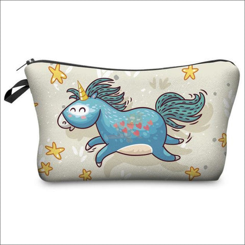 Adorable Unicorn Makeup Bags unicorn  variant 4 by Blissfactory Pet Supplies