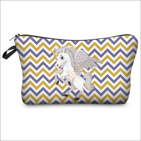 Adorable Unicorn Makeup Bags unicorn  variant 6 by Blissfactory Pet Supplies