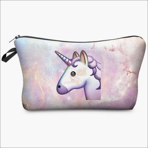 Adorable Unicorn Makeup Bags unicorn variant 10 by Blissfactory Pet Supplies