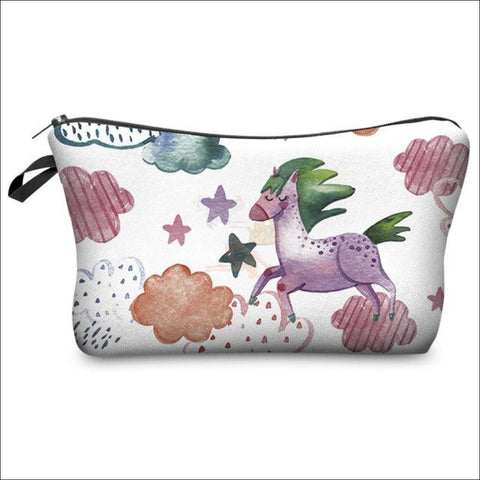 Adorable Unicorn Makeup Bags unicorn  variant 8 by Blissfactory Pet Supplies