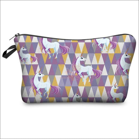 Adorable Unicorn Makeup Bags unicorn variant 7 by Blissfactory Pet Supplies