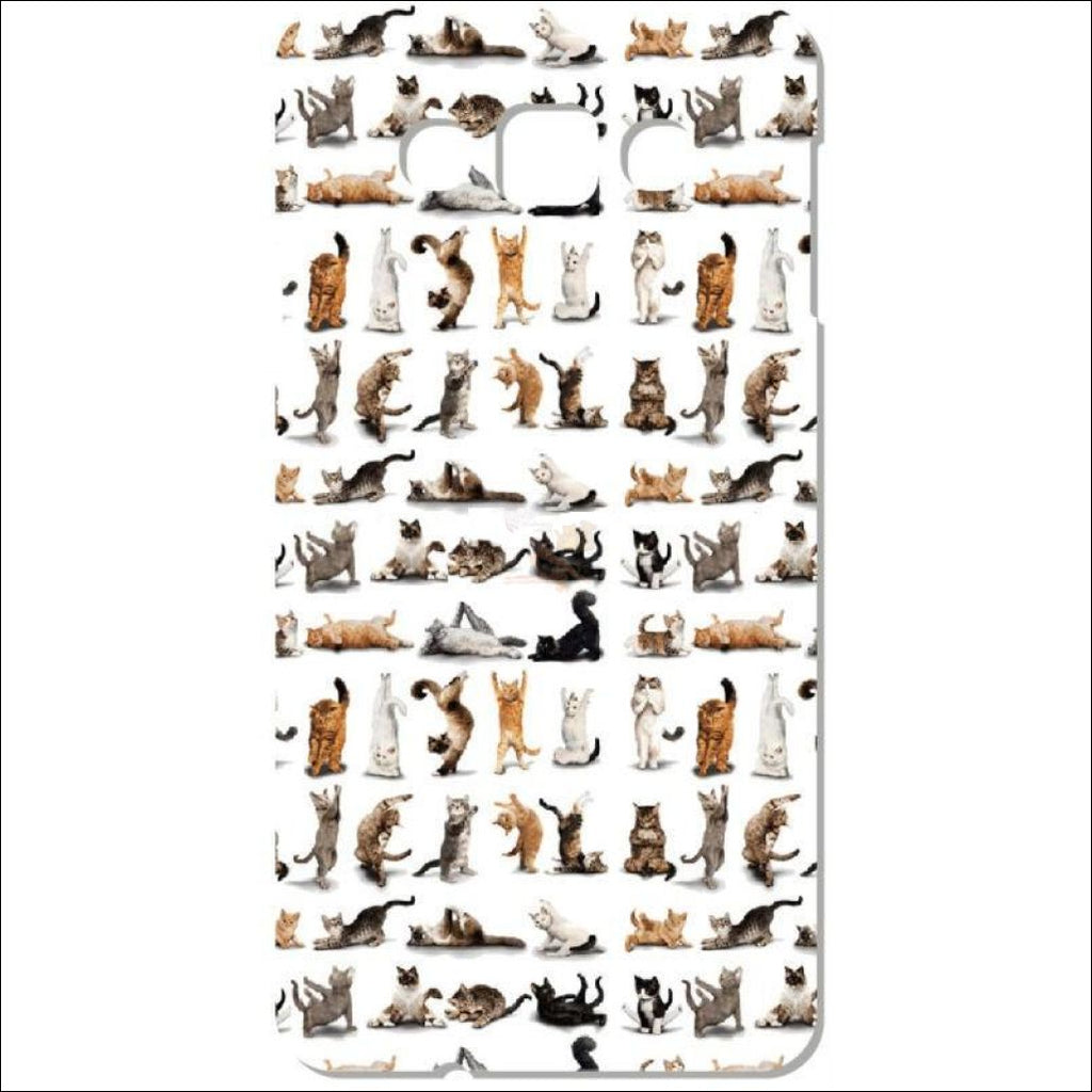 Adorable Yoga Cat Phone Cases by Blissfactory Pet Supplies