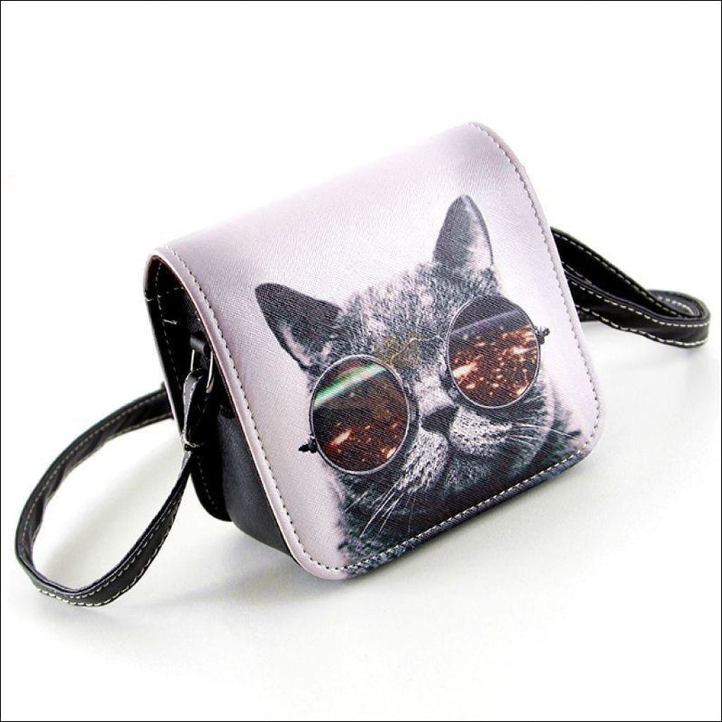Cool Cat Purse by Blissfactory Pet Supplies