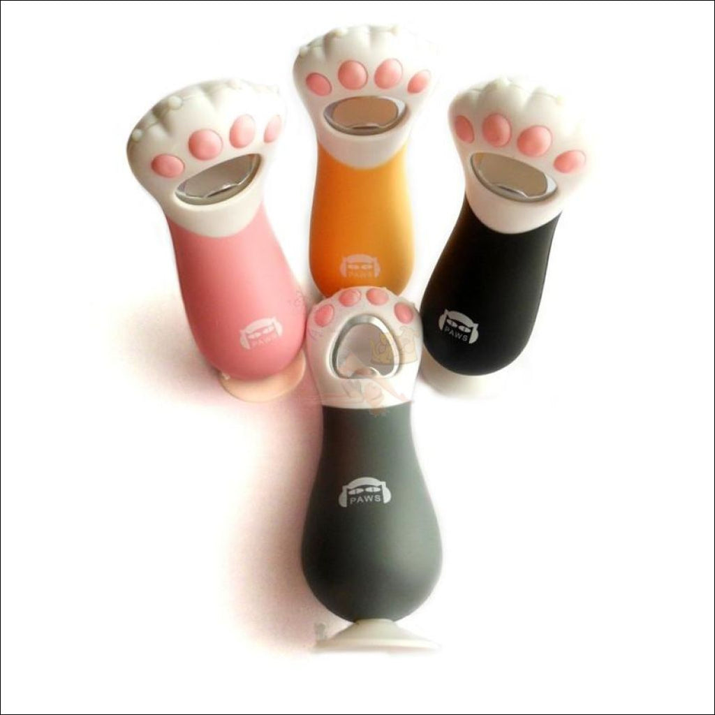 Cute Cat Paw Bottle Opener, Wine Opener 4 colors by Blissfactory Pet Supplies
