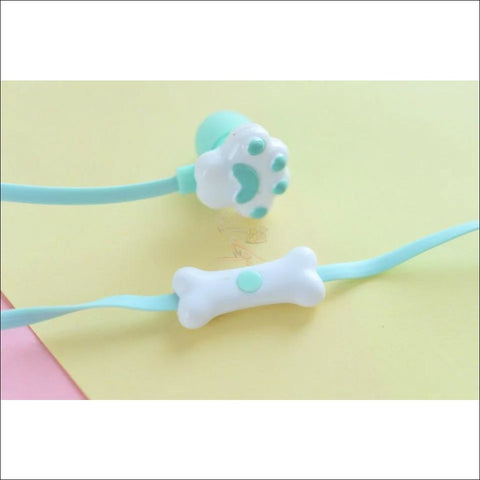 Image of Cute Cat Paw Earphones Design by Blissfactory Pet Supplies