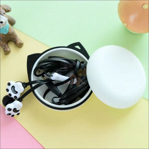 Image of Cute Cat Paw Earphones case by Blissfactory Pet Supplies