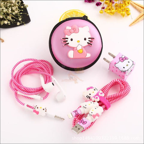 Image of Cute Cat Paw iPhone Accessories, iPhone Charger Kawai printed by Blissfactory Pet Supplies