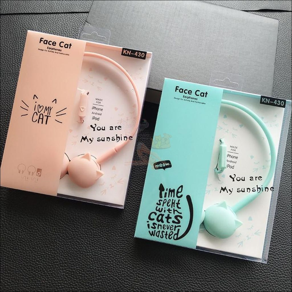 Cute Cat Sound Boost Headphones
