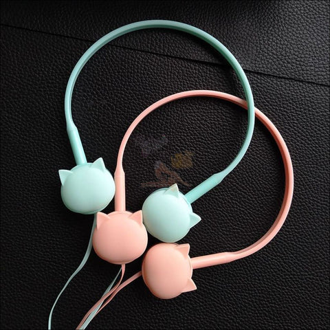Image of Cute Cat Ear  Headphones Design by Blissfactory Pet Supplies