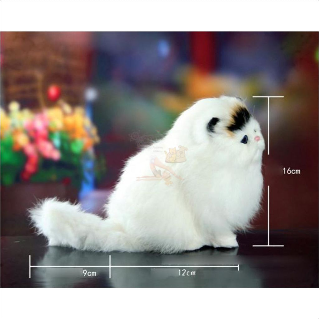 Cute Meow Sound Pudgy Best cat toys Sideview by Blissfactory Pet Supplies