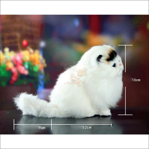 Image of Cute Meow Sound Pudgy Best cat toys Sideview by Blissfactory Pet Supplies
