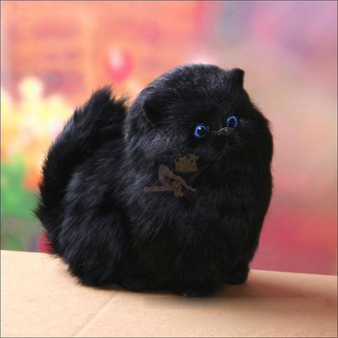 Image of Cute Meow Sound Pudgy Best cat toys Black by Blissfactory Pet Supplies