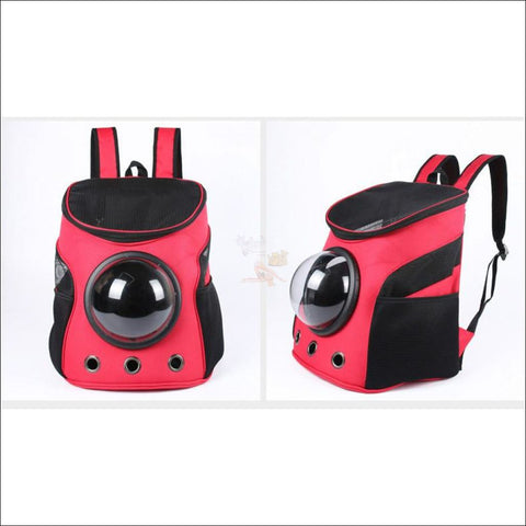 Easylife™ PET CARRIER- best cat carrier or Dog carrier Red by Blissfactory Pet Supplies