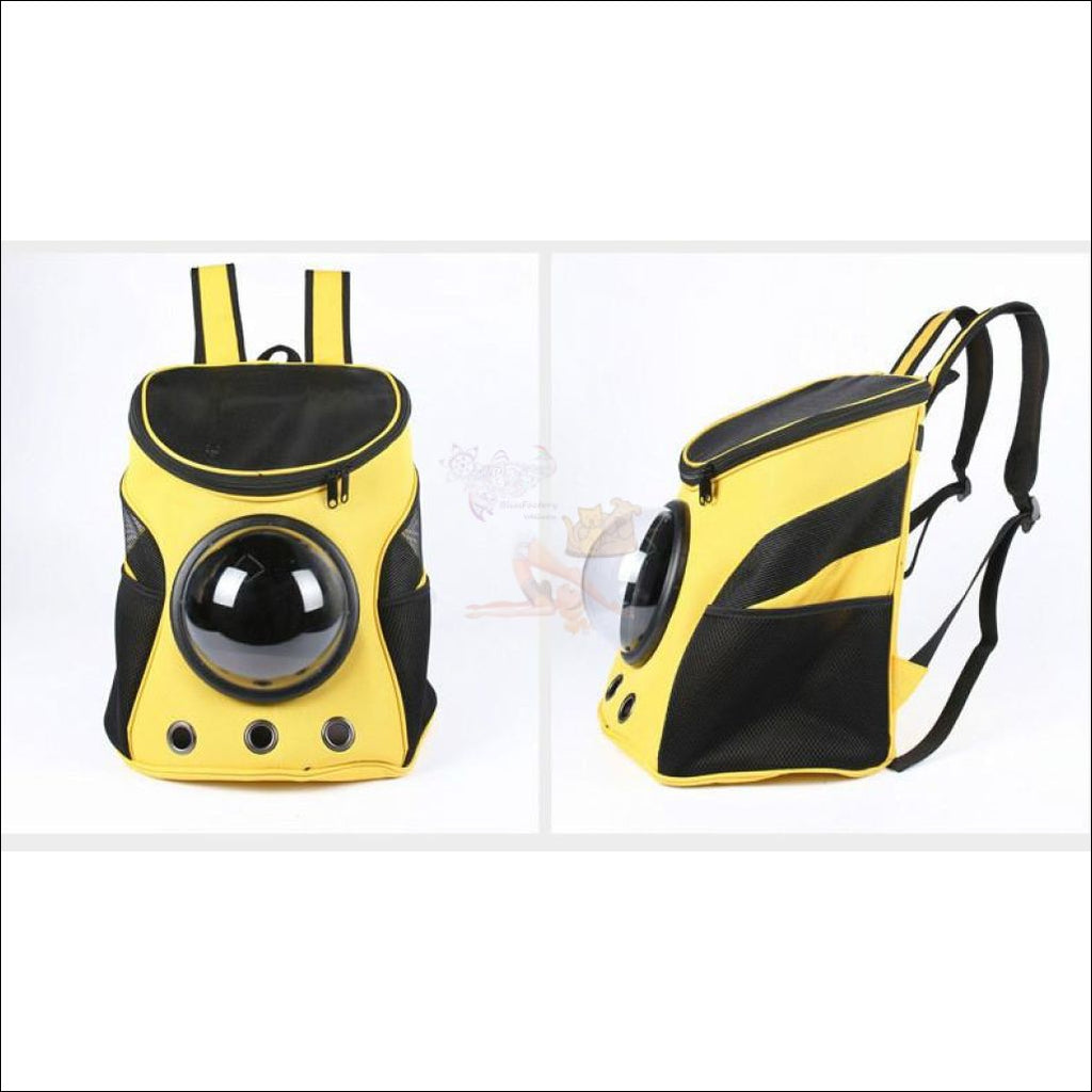Easylife™ PET CARRIER- best cat carrier or Dog carrier Yellow by Blissfactory Pet Supplies