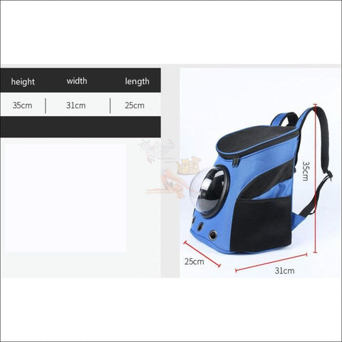 Easylife™ PET CARRIER- best cat carrier or Dog carrier Measurement by Blissfactory Pet Supplies