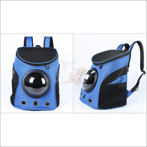 Easylife™ PET CARRIER- best cat carrier or Dog carrier Blue by Blissfactory Pet Supplies