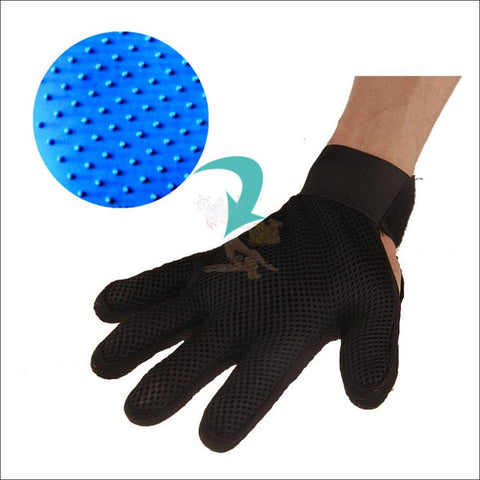 Image of Easylife Cat or Dog Grooming Glove material  by  Blissfactory Pet Supplies