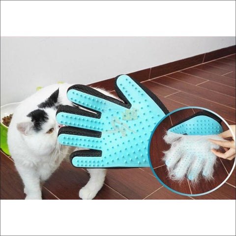 Easylife Cat or Dog Grooming Glove by  Blissfactory Pet Supplies