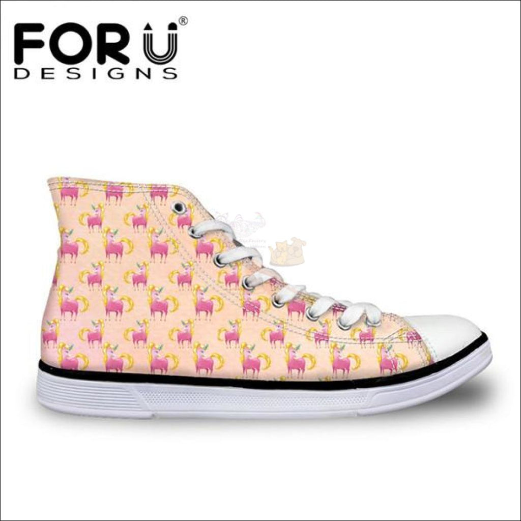 Fantastic 3D Unicorn Design Shoes For Women Cc1683Ak / 11