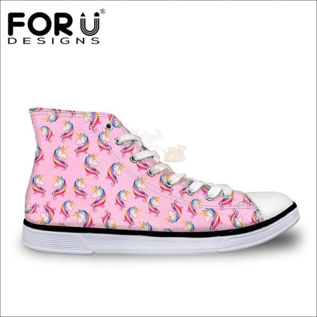 Fantastic 3D Unicorn Design Shoes For Women Cc1680Ak / 11