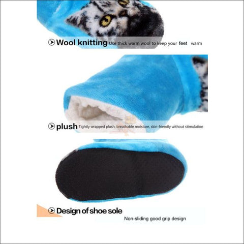 Fluffy Cat womens boots - Best Winter Boots details  by Blissfactory Pet Supplies