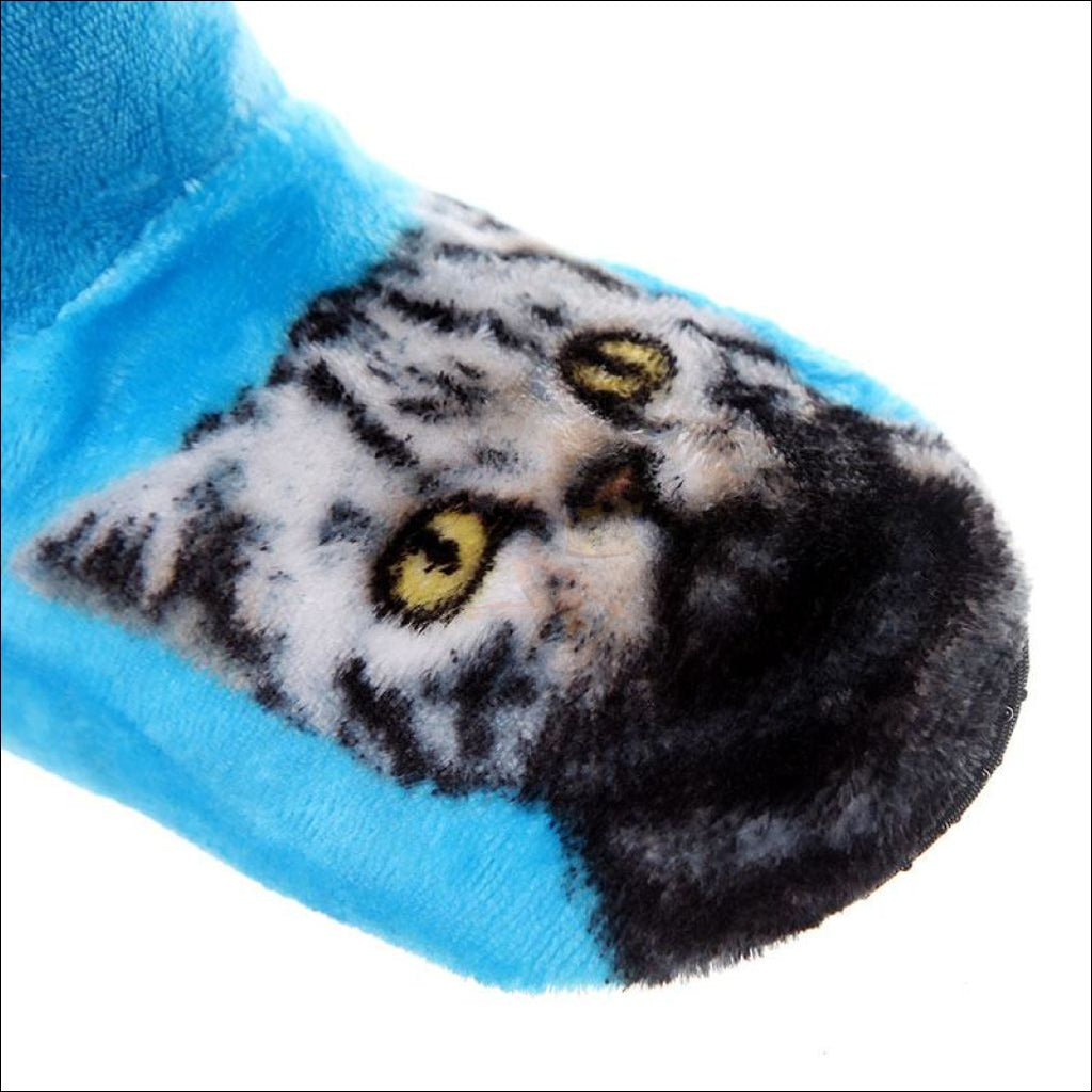 Fluffy Cat womens boots - Best Winter Boots design  by Blissfactory Pet Supplies